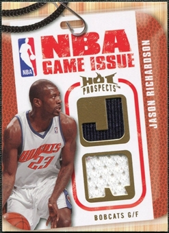 2008/09 Upper Deck Hot Prospects NBA Game Issue Jerseys #NBAJR Jason Richardson /149