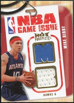 2008/09 Upper Deck Hot Prospects NBA Game Issue Jerseys #NBAMB Mike Bibby /149