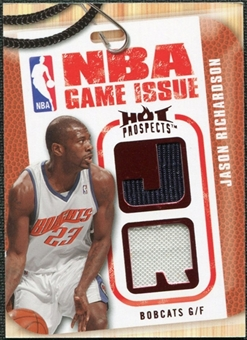 2008/09 Upper Deck Hot Prospects NBA Game Issue Jerseys Red #NBAJR Jason Richardson 11/25