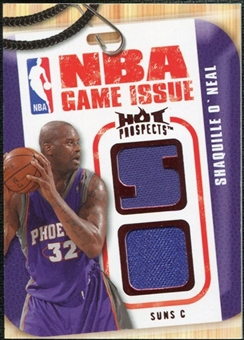 2008/09 Upper Deck Hot Prospects NBA Game Issue Jerseys Red #NBASO Shaquille O'Neal /25