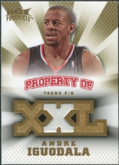 2008/09 Upper Deck Hot Prospects Property of Jerseys #POAI Andre Iguodala /199