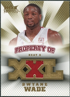 2008/09 Upper Deck Hot Prospects Property of Jerseys #PODW Dwyane Wade /199