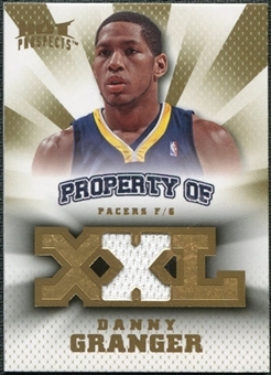 2008/09 Upper Deck Hot Prospects Property of Jerseys #POGR Danny Granger /199