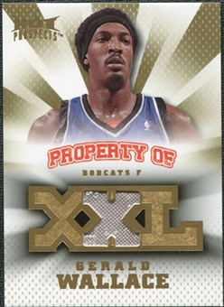 2008/09 Upper Deck Hot Prospects Property of Jerseys #POGW Gerald Wallace /199