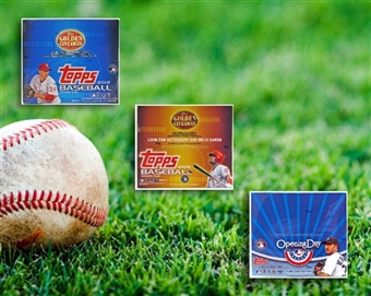 COMBO DEAL - 2012 Topps Baseball Retail Boxes (Topps 1, Topps 2, Opening Day)