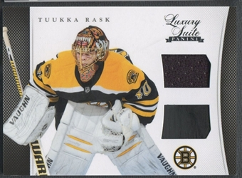 2011/12 Luxury Suite #32 Tuukka Rask Jersey Stick