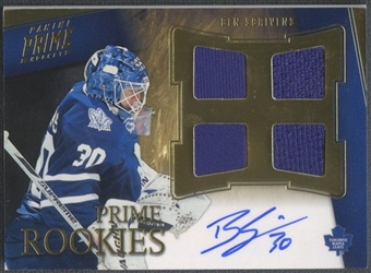 2011/12 Panini Prime #159 Ben Scrivens Rookie Jersey Auto #102/199