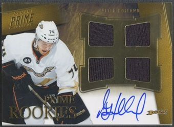2011/12 Panini Prime #102 Peter Holland Rookie Jersey Auto #180/199