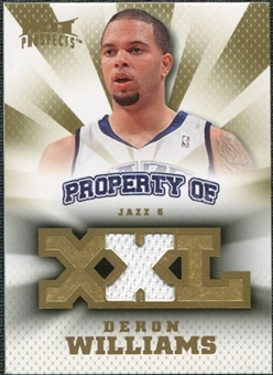 2008/09 Upper Deck Hot Prospects Property of Jerseys #POWI Deron Williams /199