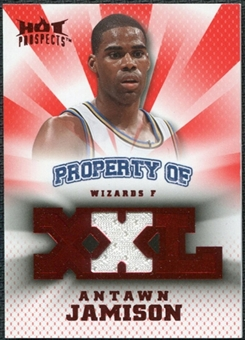 2008/09 Upper Deck Hot Prospects Property of Jerseys Red #POAJ Antawn Jamison 12/25
