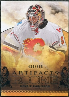 2010/11 Upper Deck Artifacts #205 Henrik Karlsson /699