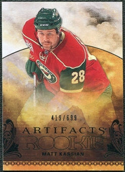2010/11 Upper Deck Artifacts #229 Matt Kassian /699