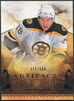2010/11 Upper Deck Artifacts #233 Jordan Caron /699