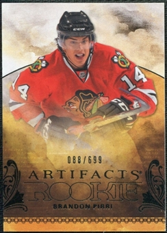 2010/11 Upper Deck Artifacts #234 Brandon Pirri /699