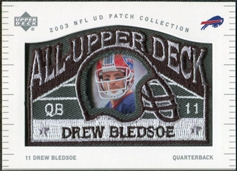 2003 UD Patch Collection All Upper Deck Patches #UD19 Drew Bledsoe