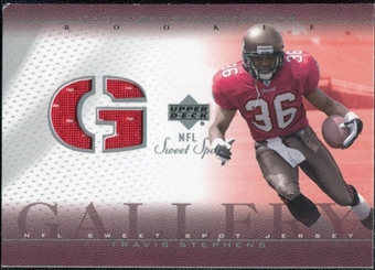 2002 Upper Deck Sweet Spot Rookie Gallery Jersey #RGTS Travis Stephens