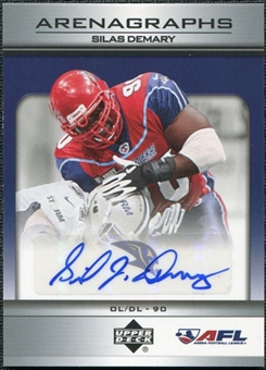 2006 Upper Deck AFL Arenagraphs #SD Silas Demary Autograph