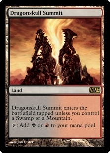 Magic the Gathering 2012 Single Dragonskull Summit FOIL
