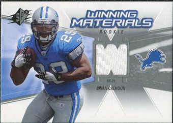 2006 Upper Deck SPx Rookie Winning Materials #WMRCA Brian Calhoun