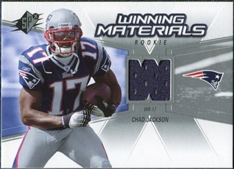 2006 Upper Deck SPx Rookie Winning Materials #WMRCJ Chad Jackson
