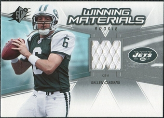 2006 Upper Deck SPx Rookie Winning Materials #WMRKC Kellen Clemens