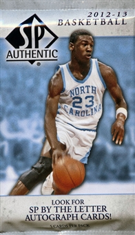 2012/13 Upper Deck SP Authentic Basketball Hobby Pack