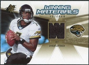 2006 Upper Deck SPx Winning Materials #WMVBL Byron Leftwich