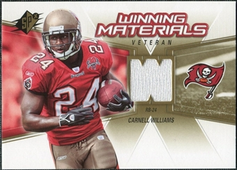 2006 Upper Deck SPx Winning Materials #WMVCW Cadillac Williams