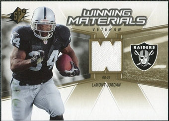2006 Upper Deck SPx Winning Materials #WMVJO LaMont Jordan