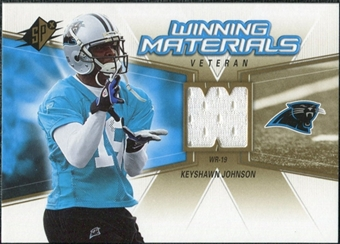 2006 Upper Deck SPx Winning Materials #WMVKJ Keyshawn Johnson