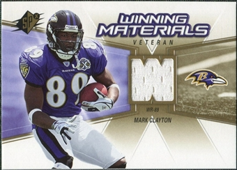 2006 Upper Deck SPx Winning Materials #WMVMC Mark Clayton