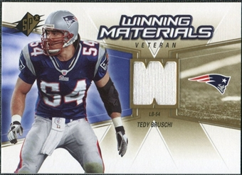 2006 Upper Deck SPx Winning Materials #WMVTE Tedy Bruschi