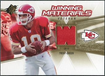 2006 Upper Deck SPx Winning Materials #WMVTG Trent Green