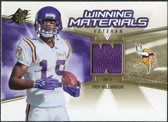 2006 Upper Deck SPx Winning Materials #WMVTW Troy Williamson