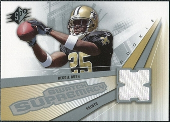 2006 Upper Deck SPx Rookie Swatch Supremacy #SWBU Reggie Bush