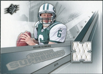 2006 Upper Deck SPx Rookie Swatch Supremacy #SWKC Kellen Clemens