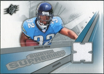 2006 Upper Deck SPx Rookie Swatch Supremacy #SWMD Maurice Drew
