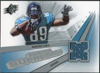 2006 Upper Deck SPx Rookie Swatch Supremacy #SWML Marcedes Lewis