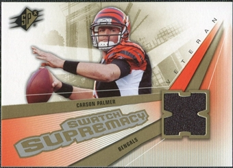 2006 Upper Deck SPx Swatch Supremacy #SWCP Carson Palmer