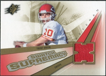 2006 Upper Deck SPx Swatch Supremacy #SWGR Trent Green