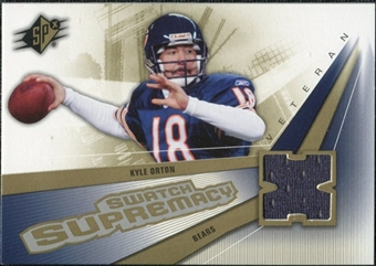 2006 Upper Deck SPx Swatch Supremacy #SWKO Kyle Orton