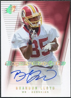 2006 Upper Deck SPx Super Scripts Autographs #SSLL Brandon Lloyd Autograph