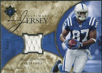 2006 Upper Deck Ultimate Collection Jerseys #ULRW Reggie Wayne /99