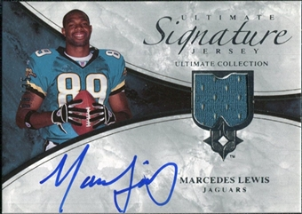 2006 Upper Deck Ultimate Collection Game Jersey Autographs #ULTLE Marcedes Lewis Autograph /35