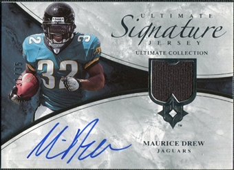 2006 Upper Deck Ultimate Collection Game Jersey Autographs #ULTMD Maurice Drew Autograph /35