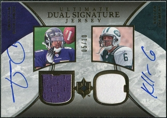 2006 Upper Deck Ultimate Collection Game Jersey Autographs Dual #WC Demetrius Williams Kellen Clemens /10