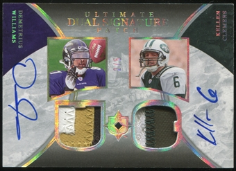 2006 Upper Deck Ultimate Collection Autographs Dual Patch #WC Demetrius Williams Kellen Clemens 2/5