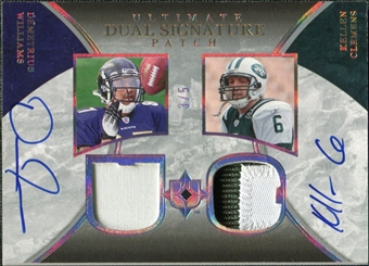 2006 Upper Deck Ultimate Collection Autographs Dual Patch #WC Demetrius Williams Kellen Clemens 3/5