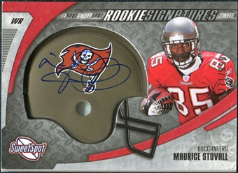 2006 Upper Deck Sweet Spot #221 Maurice Stovall RC Autograph /899
