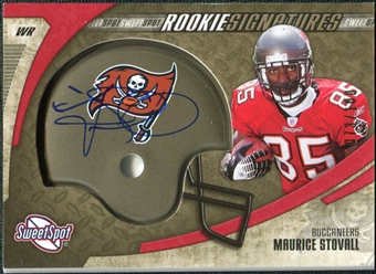 2006 Upper Deck Sweet Spot Gold Rookie Autographs #221 Maurice Stovall Autograph /100